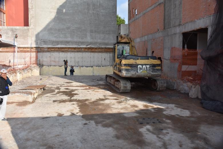 Colegio de Notarios presente en inmuebles afectados por el sismo