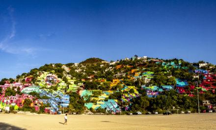Colosal, 25.000 m2 de mural que transforma la comunidad