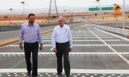 Entregan obras y anuncian proyectos de infraestructura para Zacatecas