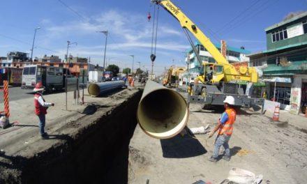 Invierte Gobierno del Estado de México más de mil 200 millones de pesos en infraestructura hidráulica