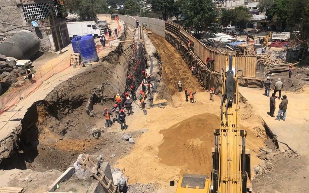 Registra 93% de avance carretera Xochimilco – Tulyehualco