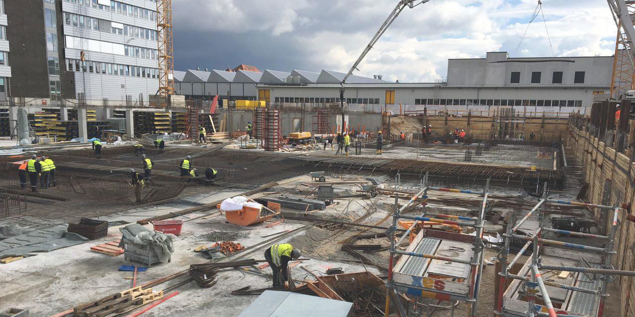 Cemex suministra aproximadamente 16,000 metros cúbicos de concreto en Alemania
