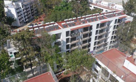 Entregan nueve edificios del Multifamiliar Tlalpan, afectado en el sismo de 2017