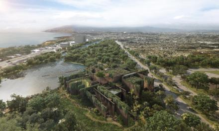 Parque Central de Mazatlán presenta 85 % de avance en su construcción