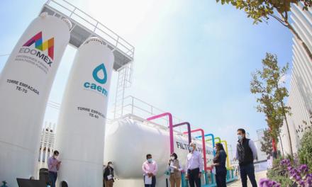 Conagua entrega Infraestructura Hidráulica en el Estado de México