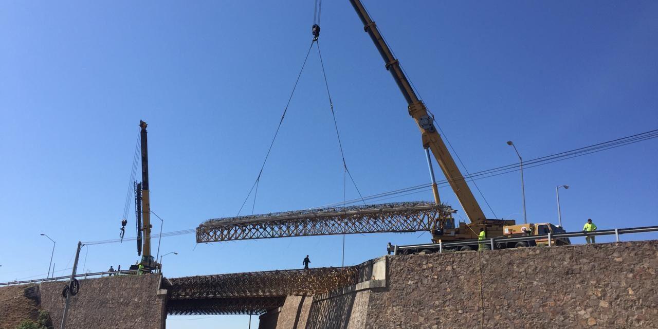 Continúa reconstrucción de Puentes Pemex en Chihuahua