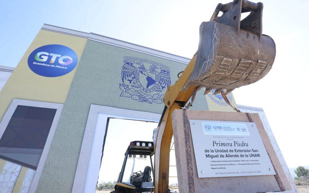 Inicia construcción del campus de la Universidad Nacional Autónoma de México en San Miguel de Allende, Guanajuato