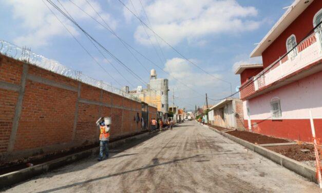 Invierten más de 41 millones de pesos en infraestructura en Cuerámaro, Guanajuato