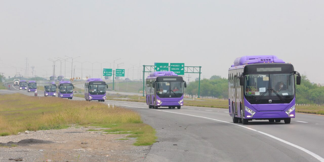 """Presentan proyecto de una nueva Ruta Express que conectaría la estación del metro """"Y Griega"""" con el aeropuerto internacional Mariano Escobedo de Monterrey"""