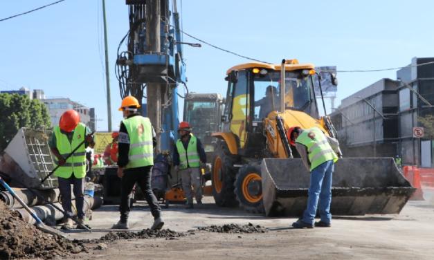 En abril del 2021 se espera que concluya la construcción del Trolebús Elevado Eje 8 Sur