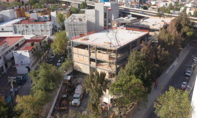 Claudia Sheinbaum supervisa construcción de Infraestructura Educativa en la Ciudad de México