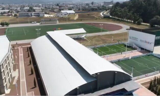 Entregan Unidad Deportiva de Amecameca en el Estado de México