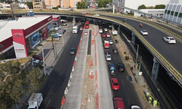 Ampliación de la Línea 4 del Metrobús a Pantitlán presenta 85% de avance