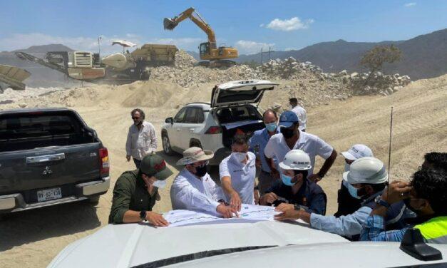 Supervisan avances de la carretera Barranca Larga – Ventanilla