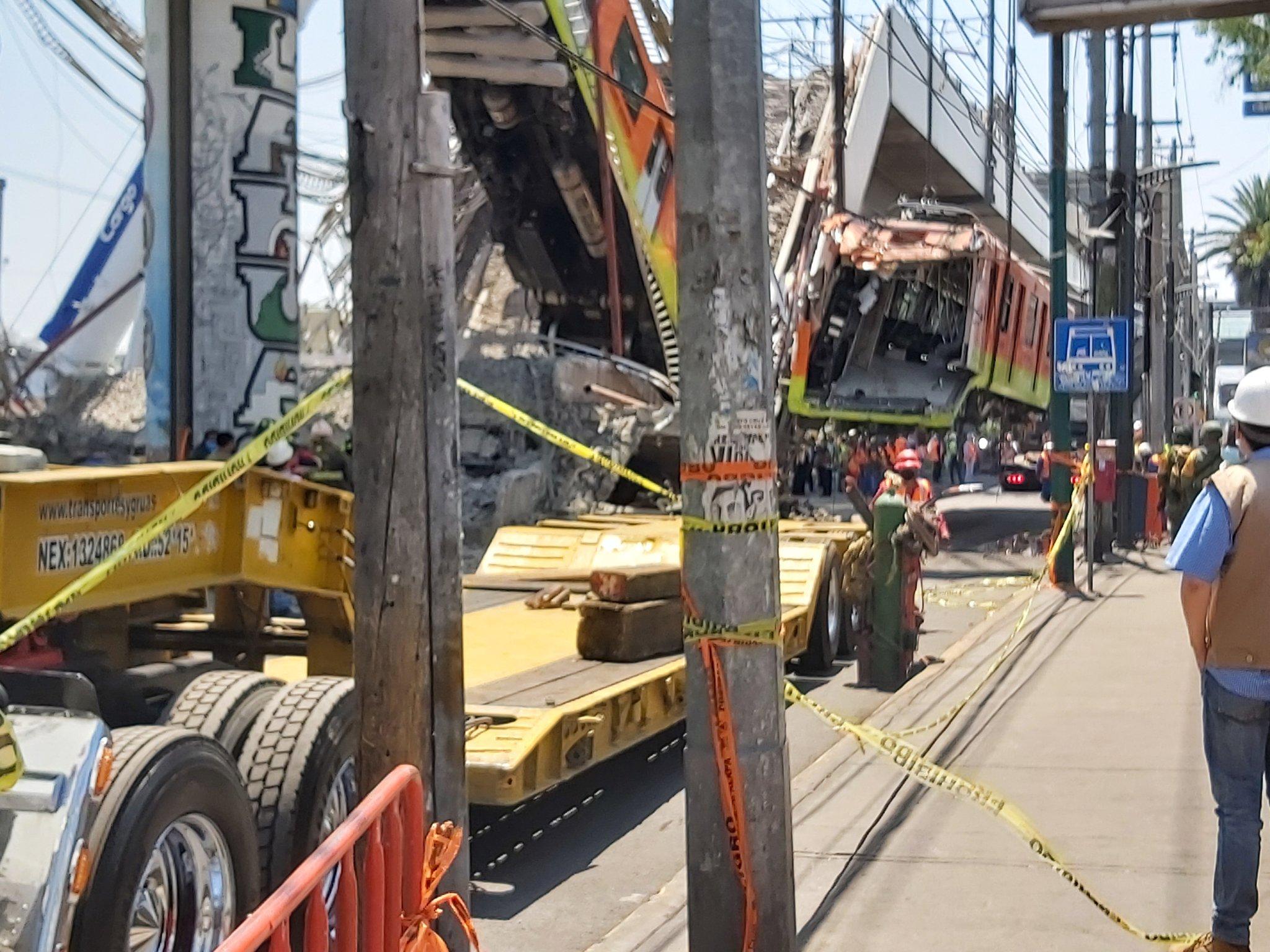 Esperan brindar resultados preliminares del accidente en la línea 12 el próximo viernes 7 de mayo